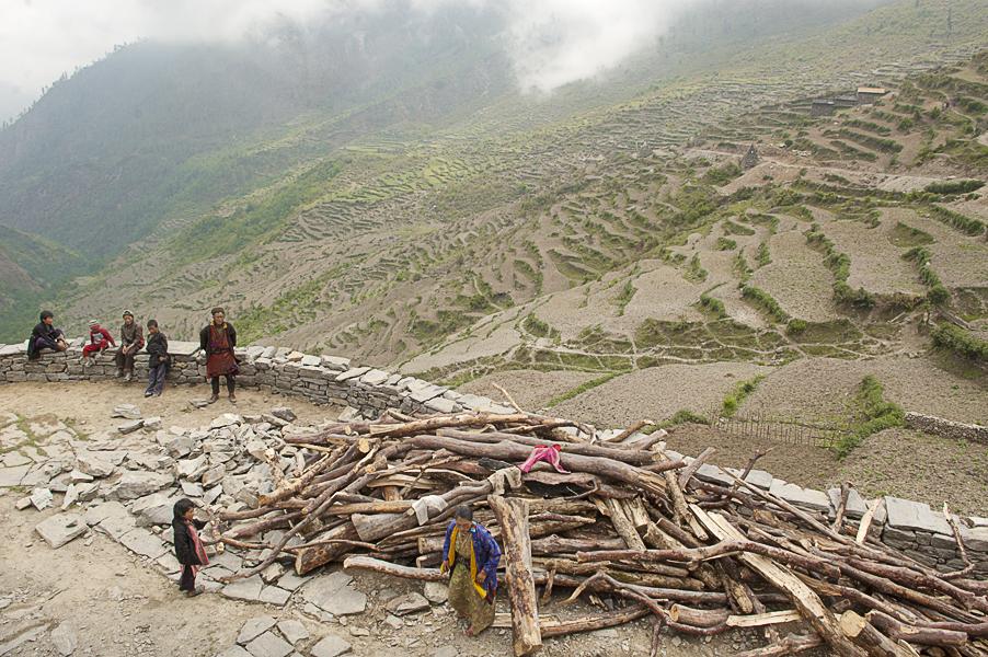 Gatlang village, Langtang region