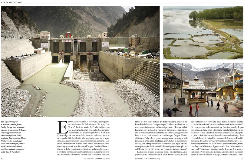 Le bollenti acque del Kashmir - Io Donna 2