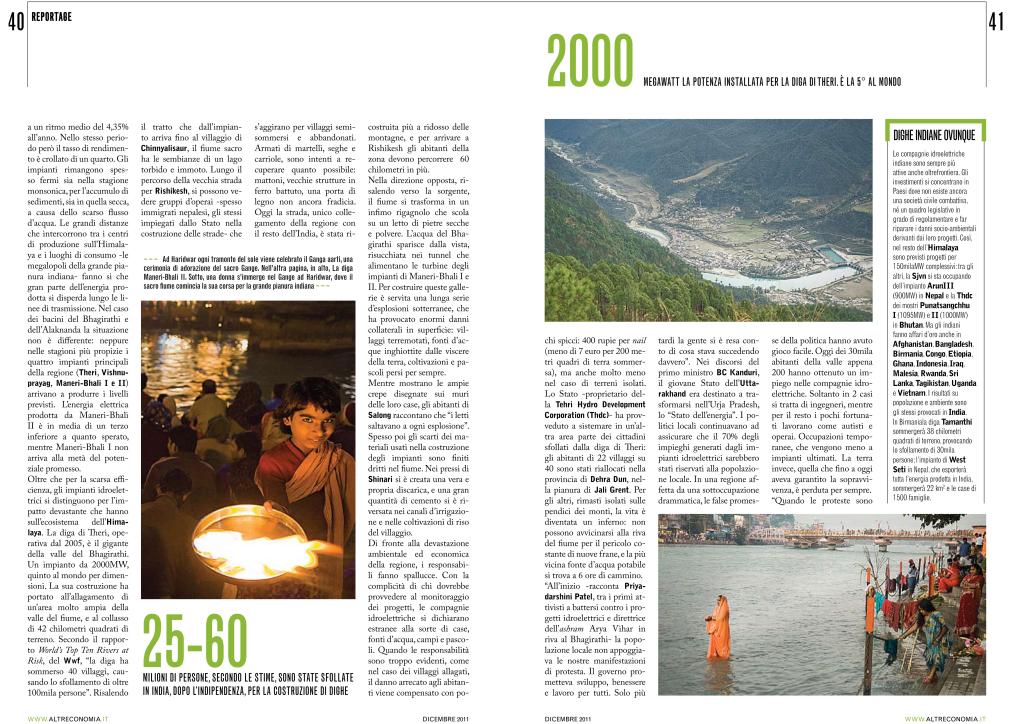 L'energia del sacro fiume indiano - Altreconomia-2