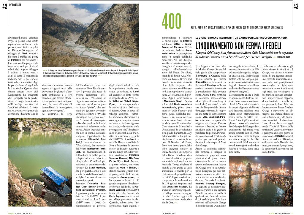 L'energia del sacro fiume indiano - Altreconomia-3