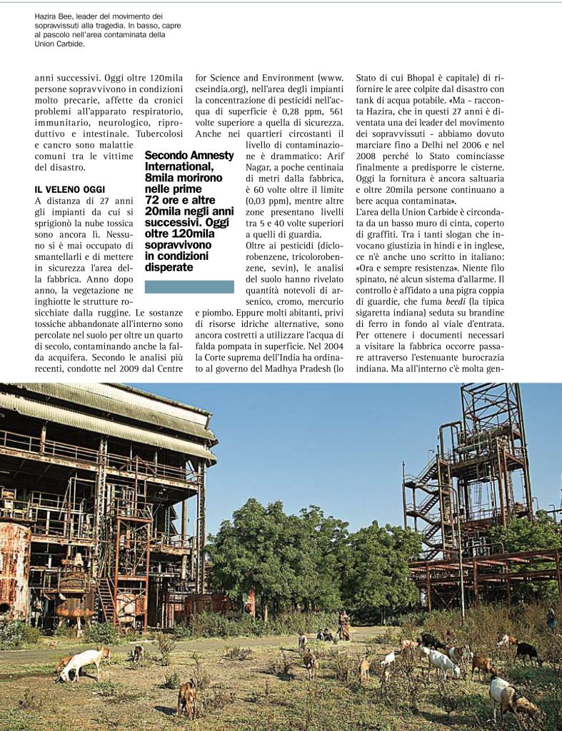 L'eredità tossica di Bhopal - Popoli-2