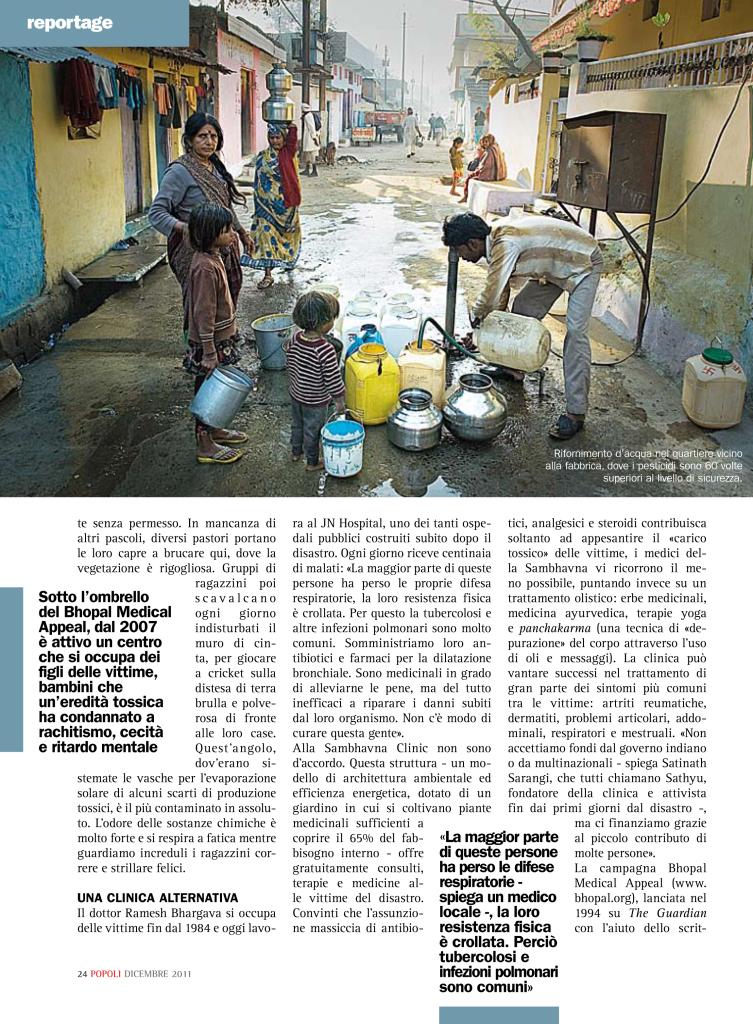 L'eredità tossica di Bhopal - Popoli-3