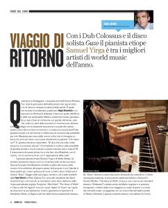 Samuel Yirga Strumenti Musicali1