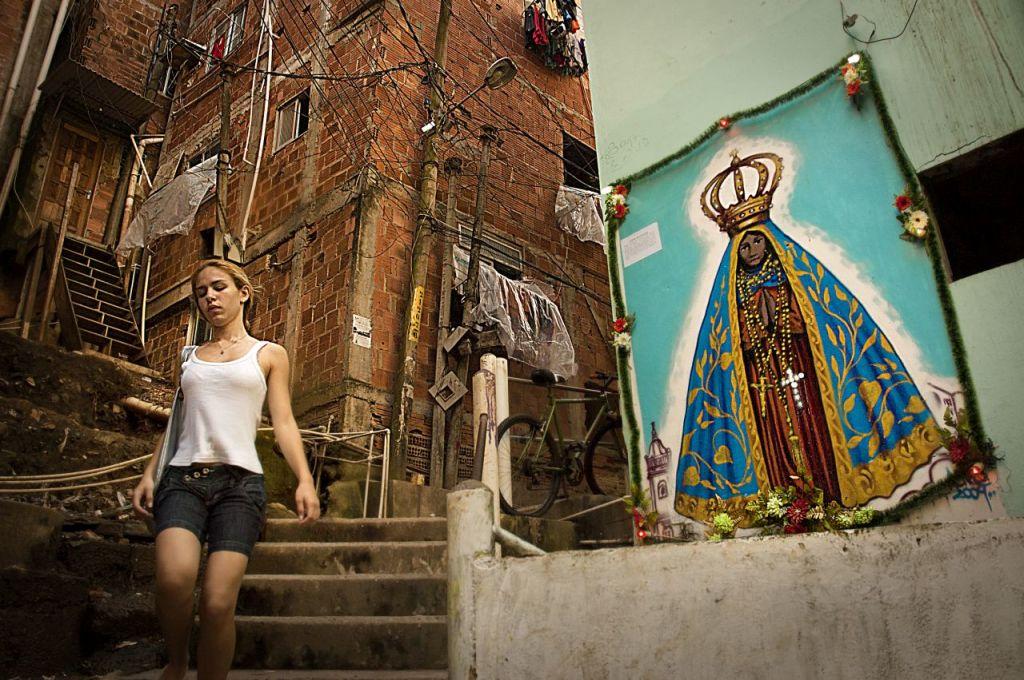 nella favela di Pavao