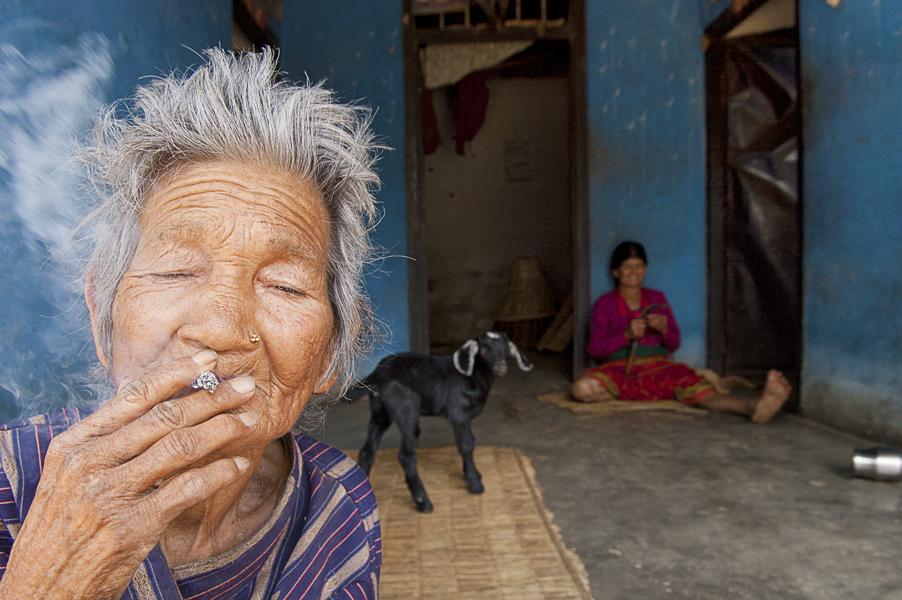 Bagnas tal, nei dintorni di Pokhara, 15 marzo 2011