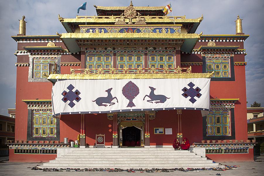 Monastero di Shechen, Boudhanath (Valle di Khatmandu), 25 febbraio 2011