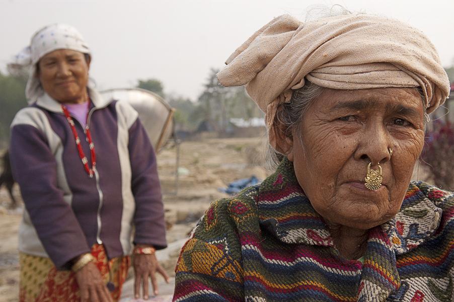 Damak (Regione di Jhapa), 1 febbraio 2011: rifugiati Lhotshampa nel campo profughi di Beldangi