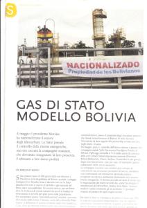 gas Bolivia