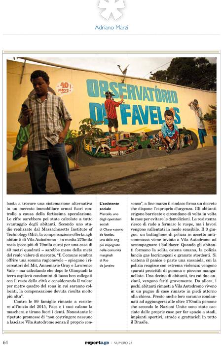 Vila Autodromo reportage 4