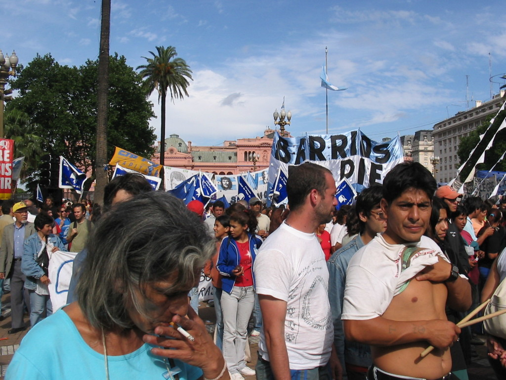 Plaza de Mayo, 9 dicembre 2004