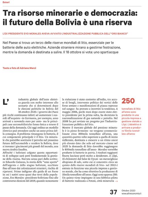 il-futuro-della-bolivia-tra-risorse-minerarie-e-democrazia-altreconomia-10-20-1