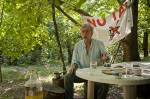 Yorgos Kalivas, last Skouries forest inhabitant. He was threatened several times by Eldorado private guards and undercover Greek policemen