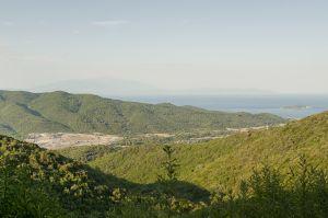 Olympiada mine site