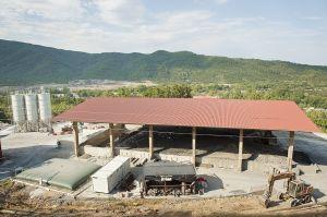 Eldorado mine site in Olympiada