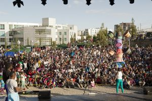 Sencirck (Senegal) performing on the Festival stage