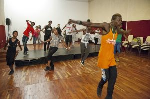 Festival workshop at Alliance Ethio-Francaise
