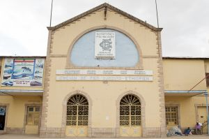 The old Dire Dawa railway station, in operation from 1902 up to 2010