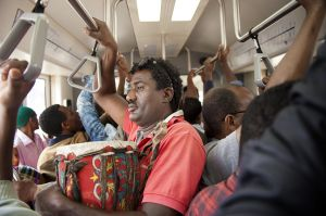 A journey on the Addis Ababa light train