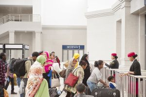 Tickets checking at the new Addis Ababa railway station-c89.jpg