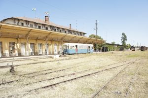 Lagare, the old Addis Ababa railway station, in operation from 1929 up to 2008
