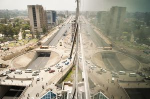 New Bole road in Addis Ababa