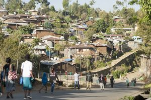 Bella popular district, one of the oldest neighbourhood in Addis Ababa