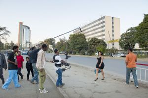 The shooting of Lamsek Genesh by Mahmood Daud on Churchil road, Addis Ababa