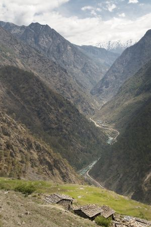 Bhote Koshi valley