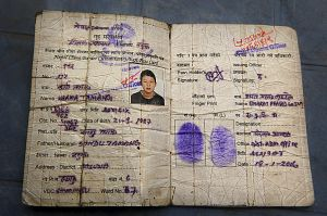 Karma Tamang border passport