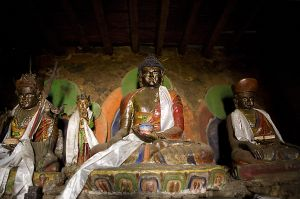 Buddhist temple at Nagthali village